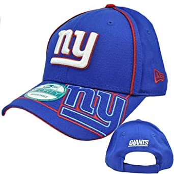 NFL New York Giants Hurry Up O 940 Cap, Blue, One Size Fits All by New Era