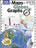 Maps Globes Graphs: Teacher's Guide, Level F Grade 6 2004