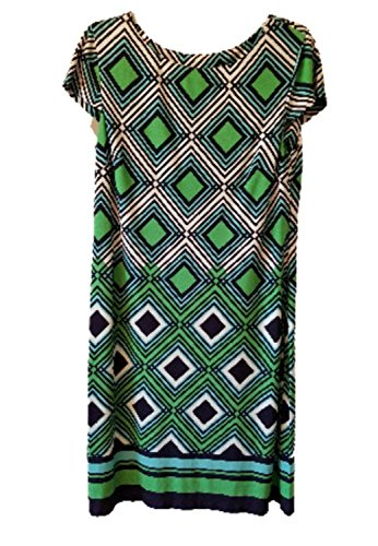Jessica Howard Womens 2XL Sleeveless Maxi Dress Green