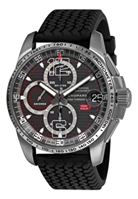 Chopard Men's 168459-3005 Mille Miglia GT XL 2009 Titanium Limited Edition Chrono Grey Dial Watch from Chopard
