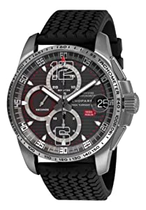 Chopard Men's 168459-3005 Mille Miglia GT XL 2009 Titanium Limited Edition Chrono Grey Dial Watch