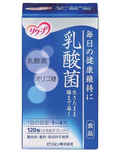 ピジョン リクープ 乳酸菌 120粒