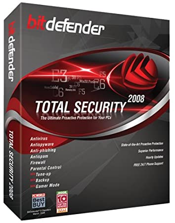 BitDefender Total Security 2008 - 2 Years/3 Pc's [OLD VERSION]