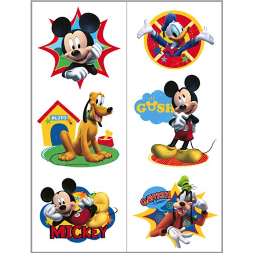 Mickey Mouse Friends Tattoo - 2 Sheets