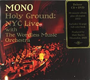 Holy Ground: NYC Live With the Wordless Music Orchestra (CD + DVD)