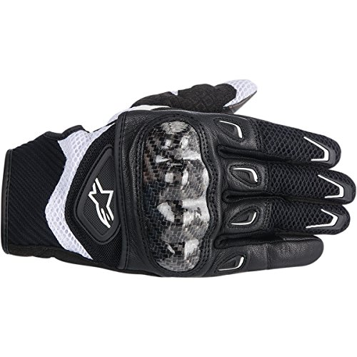 ALPINESTARS SMX-2 Air Carbon Glove Textile Black/White Large
