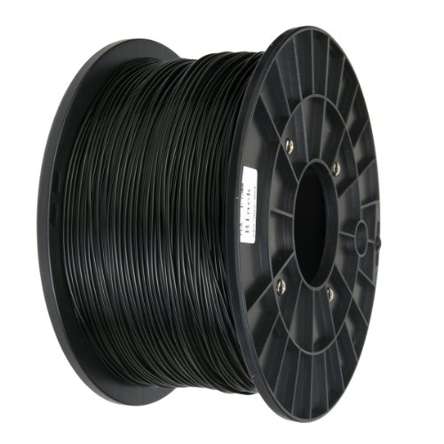 Xcsource 3D Printer Filament 1.75MM ,PLA (1kg/2.2lb) Black AC133B