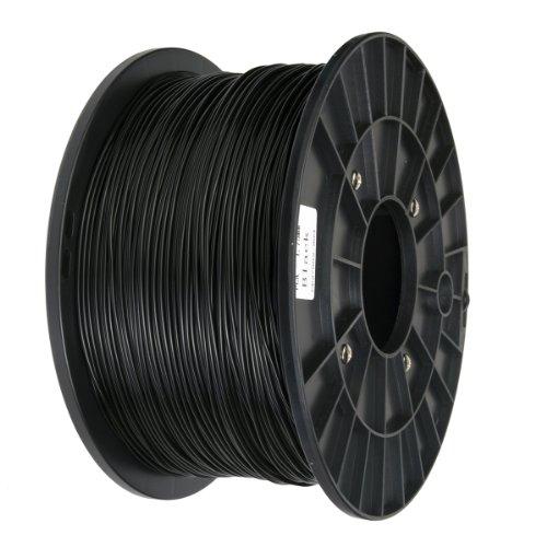 Xcsource 3D Printer Filament 1.75MM ,PLA (1kg/2.2lb) Black AC133B