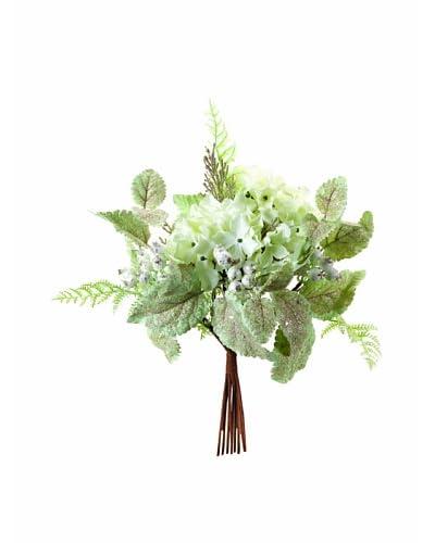 Melrose International Mint Hydrangea Bouquet