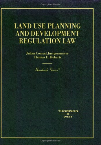 Land Use Planning and Development Regulation Law (Hornbook)