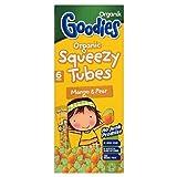 Organix Goodies Squeezy Tubes Mango & Pear - Stage 4 6 x 30g