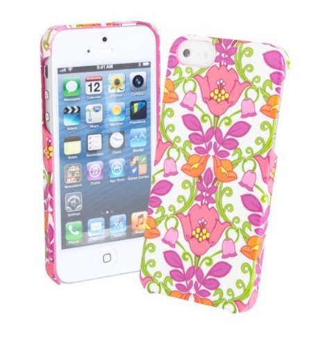 Best Price Vera Bradley Snap On Case for iPhone 5 (Lilli Bell)