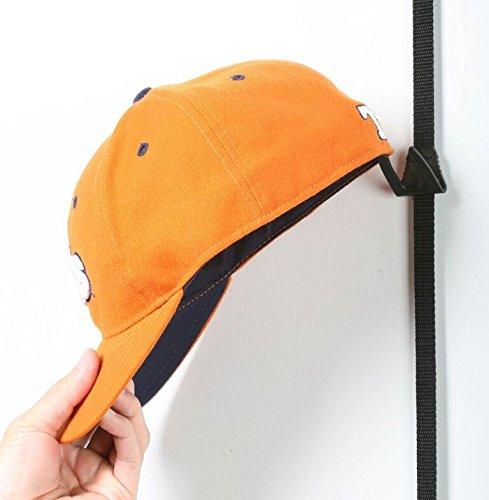 cap rack 18 baseball hat holder organizer storage hook