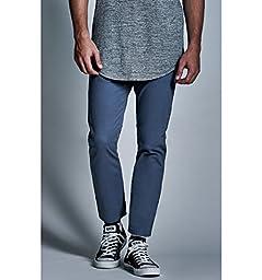 Bullhead Denim Co. Mens Cropped Skinny Chino Pants
