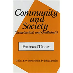 Amazon.com: Community and Society: (GEMEINSCHAFT AND GESELLSCHAFT ...