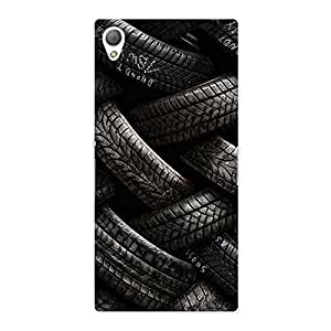 Enticing Knot Tyre Back Case Cover for Sony Xperia Z3