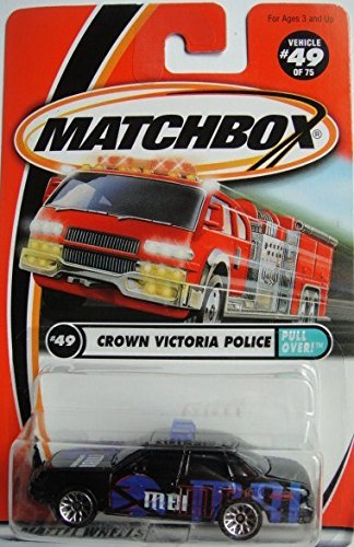 MATCHBOX CROWN VICTORIA POLICE PULL OVER! #49