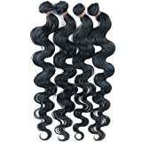 "Neitsi 3pcs 18""20""22"" Brazilian Virgin Remy Human Hair Body Wave Extension"