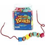 Learning Resources Soft Foam Lacing Beadsby Learning Resources