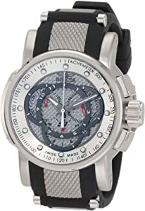 Invicta Men's 0895 S1 Touring Sport Chronograph Black Rubber Watch