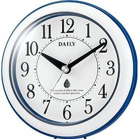 DAILY 掛け時計 アクアパークN 強化防滴・防塵タイプ 4KG711DA04