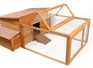 Meadow Lodge Hen Homes - Enclos pour poulailler en bois