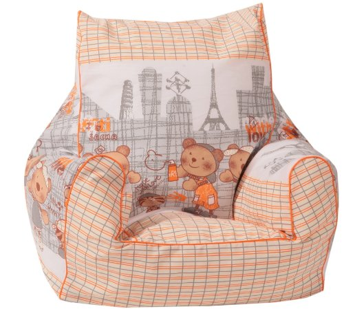 Knorr-baby 450108 - Kinder-Sitzsack - Broadway Graffiti