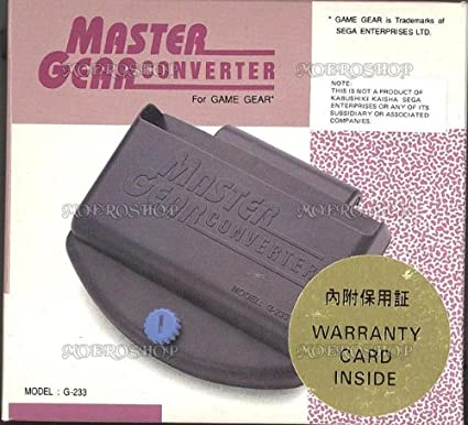 Sega Game Gear Master System