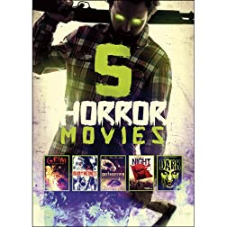 5-Horror Movies: Grim / The Greenskeeper / The Dead of Night / Deadly Instinct / The Dark