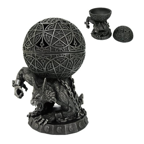 Atlas Werewolf Incense Burner Figurine