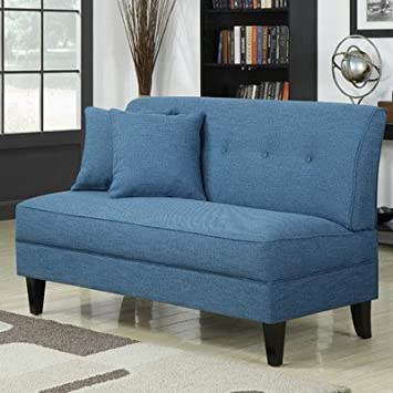 Bayonet Loveseat Color: Caribbean Linen