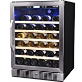 Newair 52 Bottle Built-in Wine Cooler - Awr-520sb