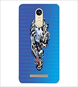 PrintDhaba Sporty D-2467 Back Case Cover for XIAOMI REDMI NOTE 3 MEDIATEK (Multi-Coloured)
