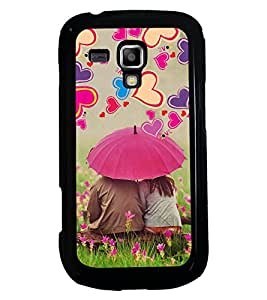 PRINTSWAG LOVER COUPLES Designer Back Cover Case for SAMSUNG GALAXY S DUOS S7562