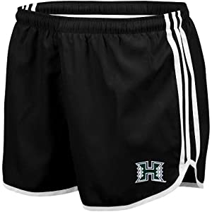 adidas Hawaii Warriors Ladies Black Princess Running Shorts