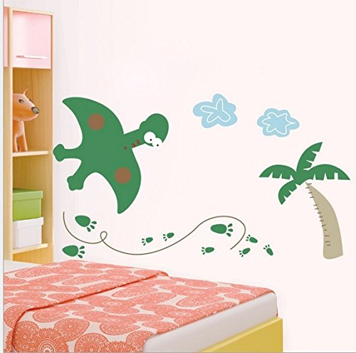 Home Wall Decor Decals Poster House Wall Stickers Quotes Removable Vinyl Large Wall Sticker For Kids Rooms Stickers Dinosaur W-506 front-676239