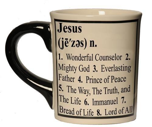 Tumbleweed 24-Ounce Definition Mug - Inspirational Jesus