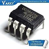 100PCS UC3842AN DIP8 UC3842 UC3842BN DIP 3842AN DIP-8 New and Original IC