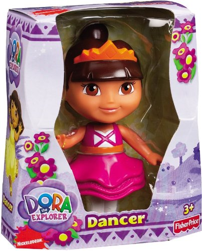 Dora the Explorer Dancer Posable Figure - 1