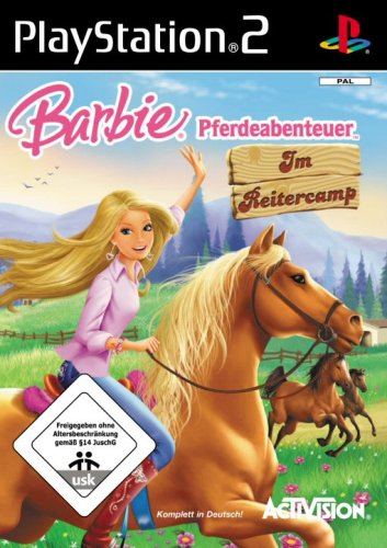 PS2 Barbie Pferdeabenteuer Im Reitercamp (German version)