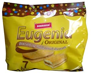 Eugenia Original Biscuit with Cacao 252g (7x36g)-yellow bag