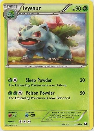 Pokemon - Ivysaur (2/108) - BW - Dark Explorers