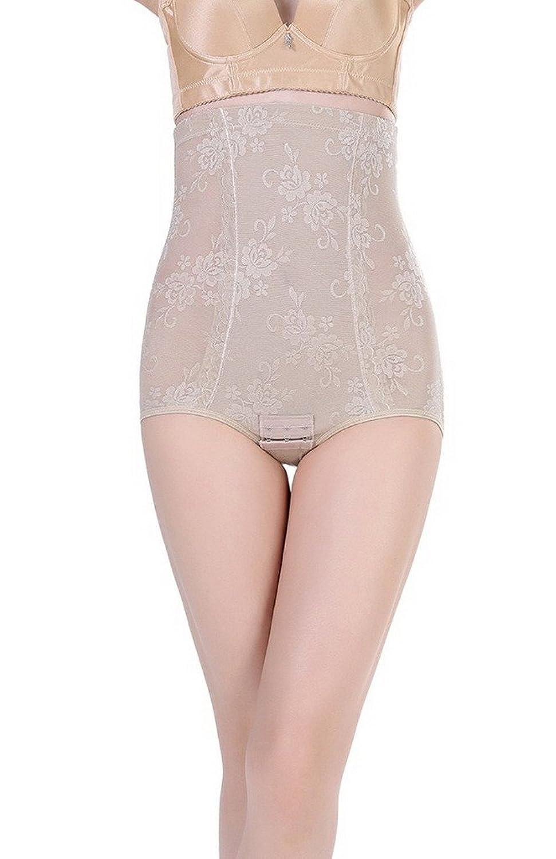Bigood 1*Miederbody Damen Miederpants Body Miederslips Shapewear Body Hoch Hose Hoch Taille Efenbein günstig online kaufen