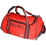 Ferrari nylon sport bag red