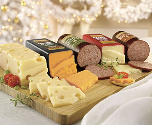 The Swiss Colony The Jumbos, Sausage and Cheese 3-Piece Gift Box image