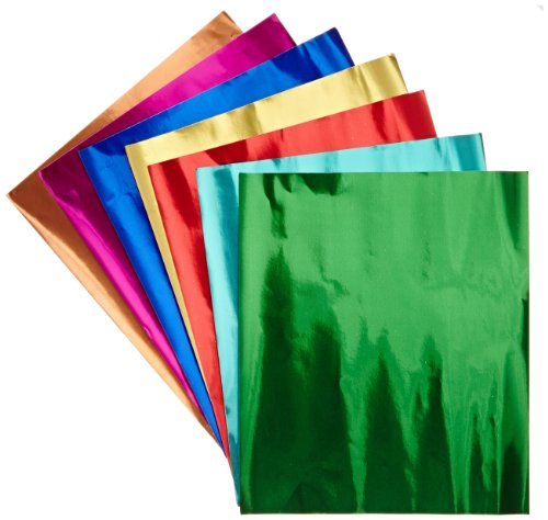 hygloss-metallic-foil-paper-8-1-2-x-10-inches-pack-of-24-assorted-colors