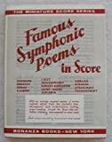 Famous Symphonic Poems in Score