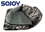 """Sojoy 12V Heated Travel Electric Blanket for Car, Truck,Boats or RV with High/Mid/Low Temp Control, Smart Timing (59""""x40"""") (Camouflage)"""