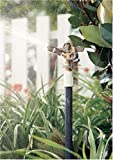Rain Bird 25PJDAC Brass Impact Sprinkler, Adjustable 0° to 360° Pattern, 20 - 41 Spray Distance