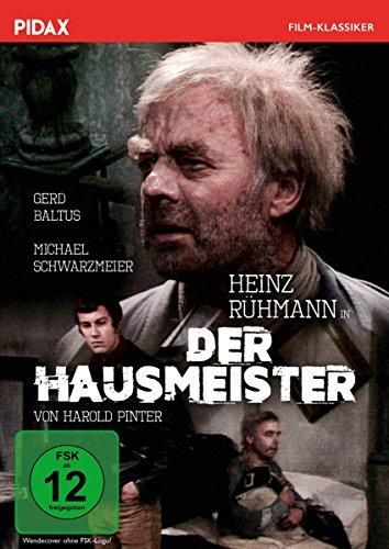 Der Hausmeister / Verfilmung des weltberühmten Stückes von Harold Pinter mit Heinz Rühmann (Pidax Film-Klassiker)